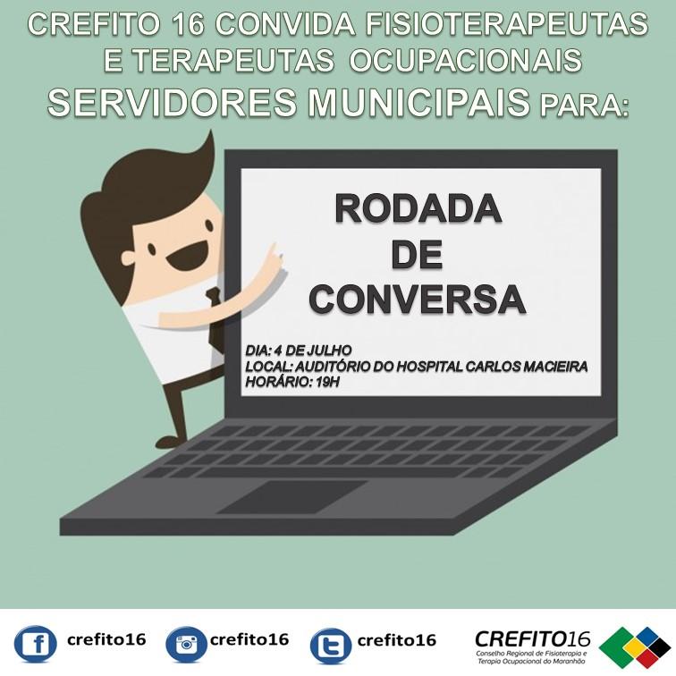 CREFITO 16 promove Rodada de Conversa com Fisioterapeutas ...