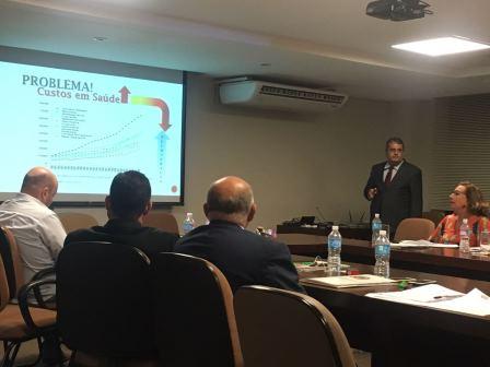 Coordenador da CNPF e presidente do CREFITO-16, Fernando Muniz.