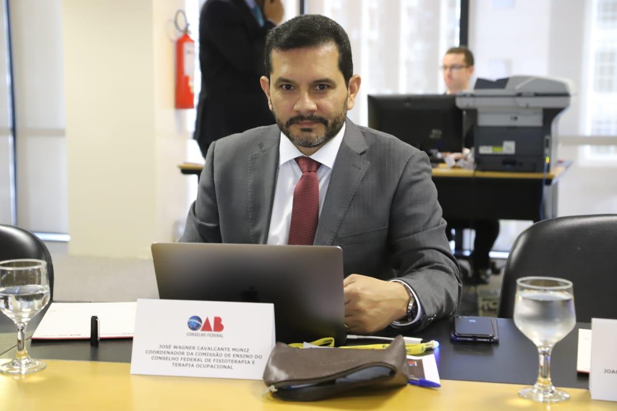 O membro da Comissão de Desenvolvimento Científico e Educação da Fisioterapia (CDCEF), Dr. José Wagner Cavalcante Muniz, representou o COFFITO durante o Fórum.