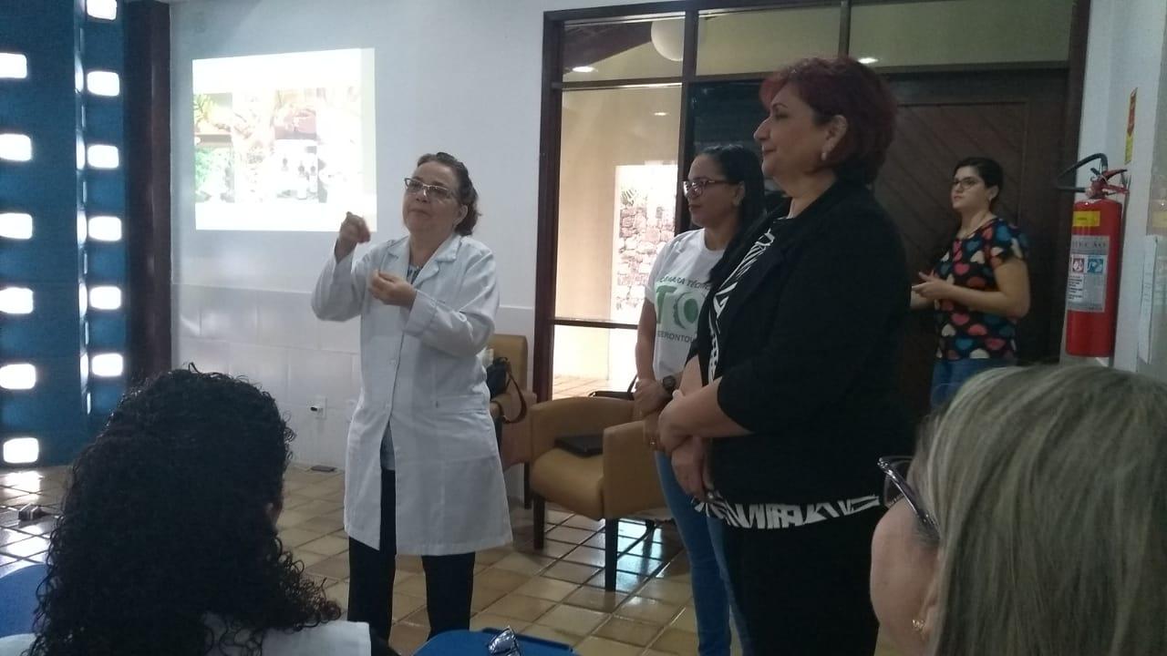 Membros da Câmara Técnica de Gerontologia do CREFITO-16.